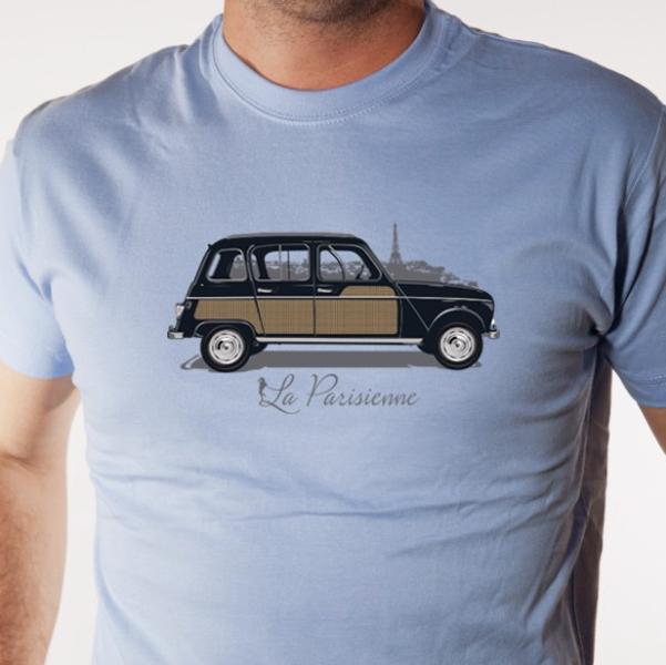 t-shirt-voiture-4l-parisenne