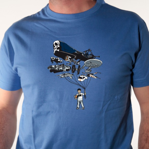 t shirt parodie - spaceship collection