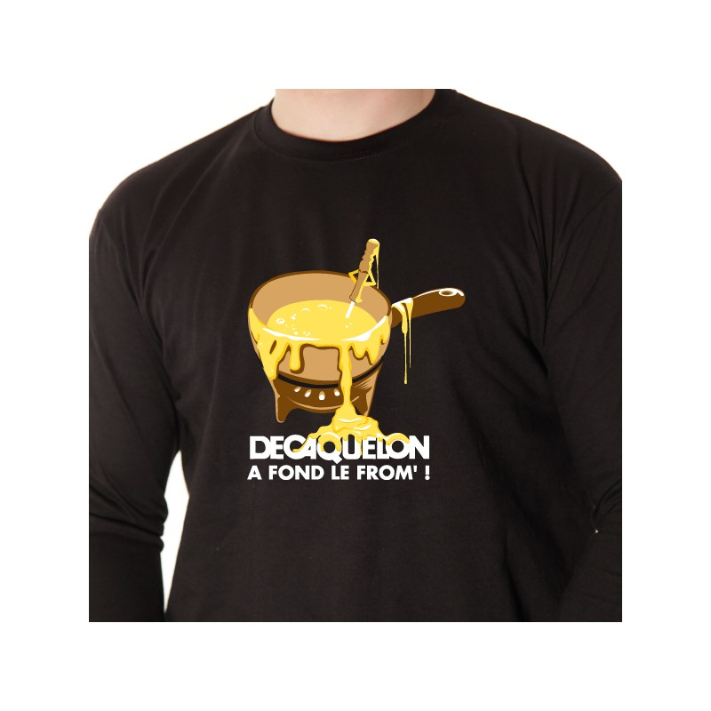 t shirt les alpes - decaquelon