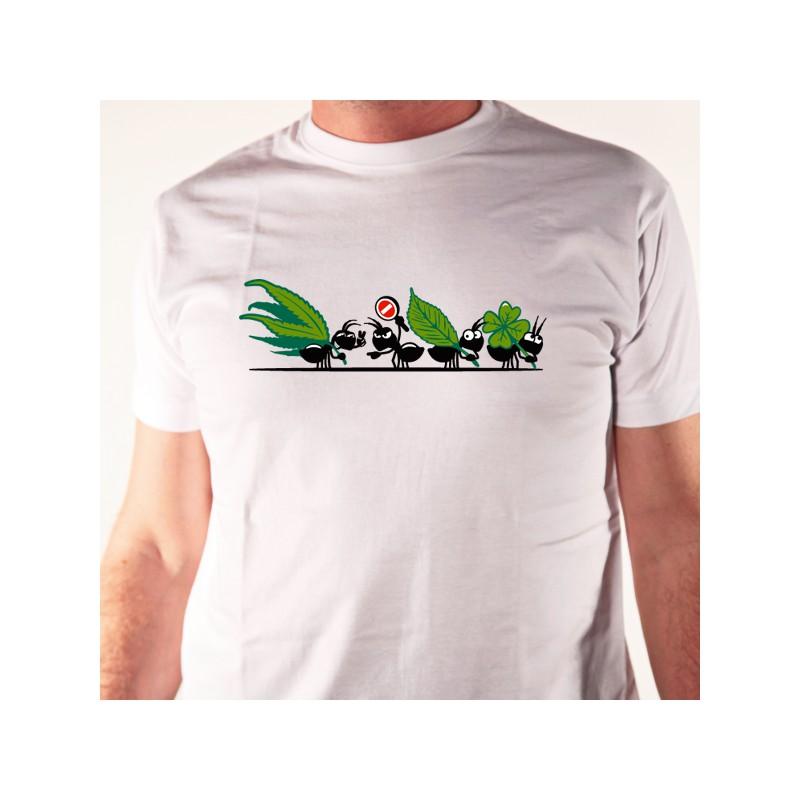 T shirt sur les fourmis - Faire fuir les fourmis ...