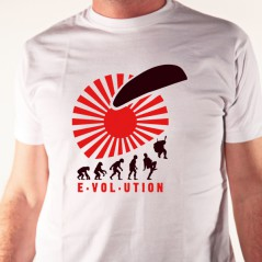 La théorie de l'évolution : parapente