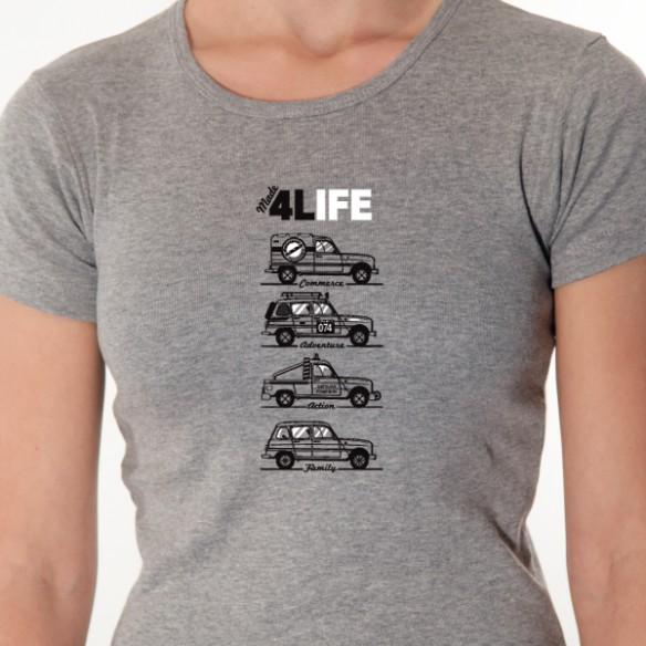 t shirt 4l 4l life avomarks. Black Bedroom Furniture Sets. Home Design Ideas