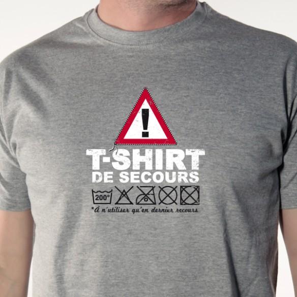 T-shirt \'Tee-shirt de secours\'
