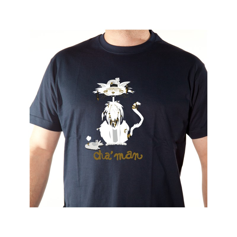 t shirt animaux - cha u0026 39 man