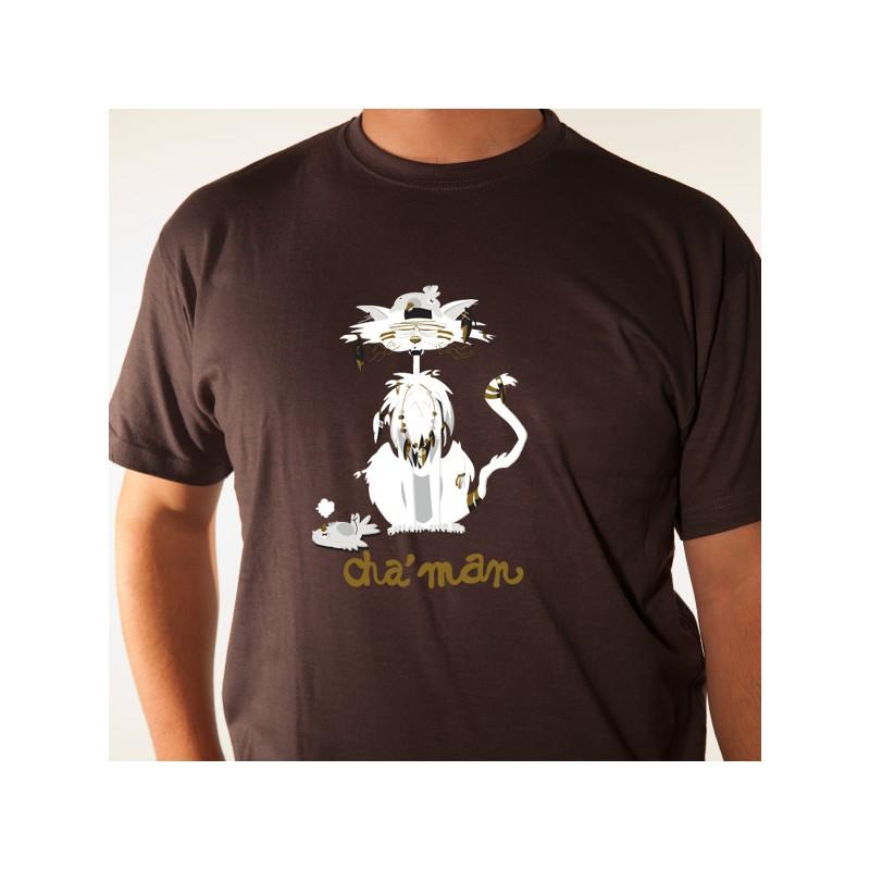 t shirt animaux - cha u0026 39 man