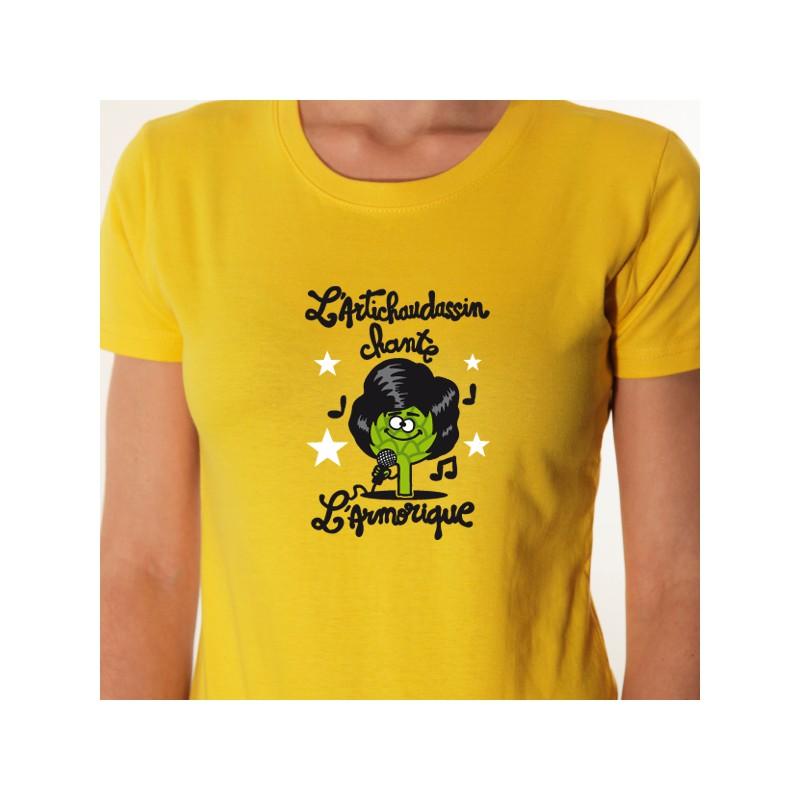t shirt bretagne - l u0026 39 artichaud     dassin