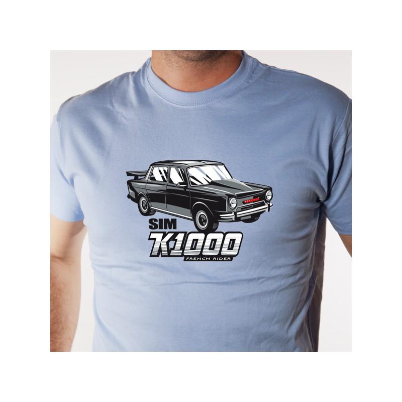 t shirt auto - sim k 1000