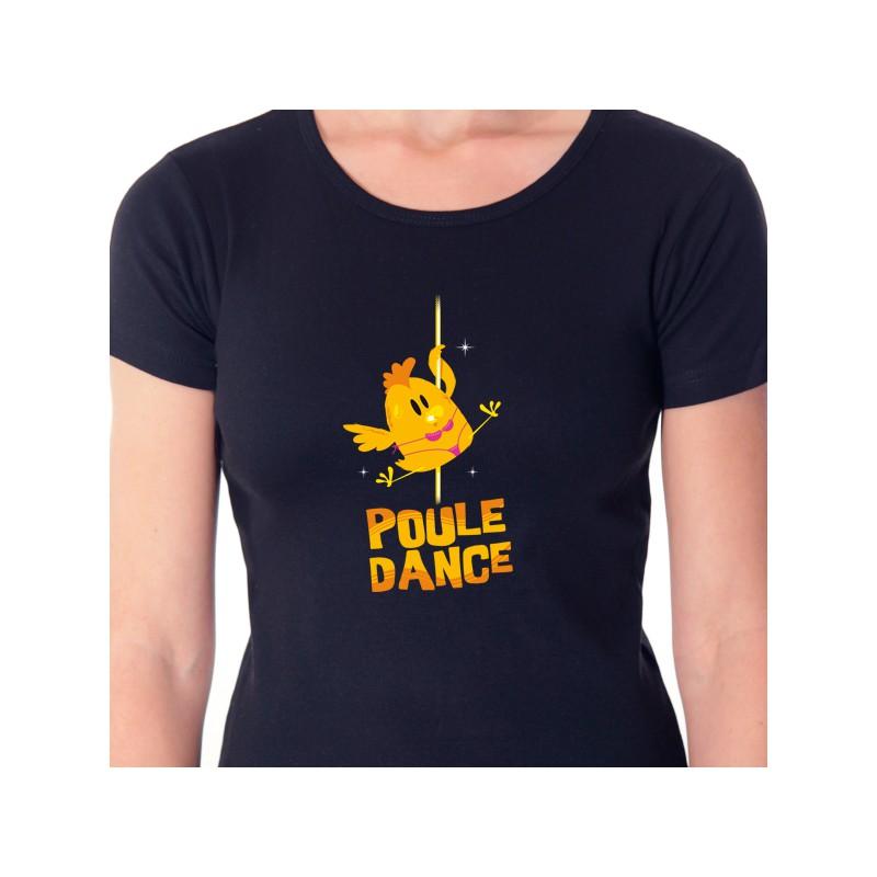t shirt animaux - poule dance