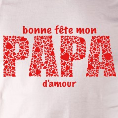 Bonne fête papa d'amour