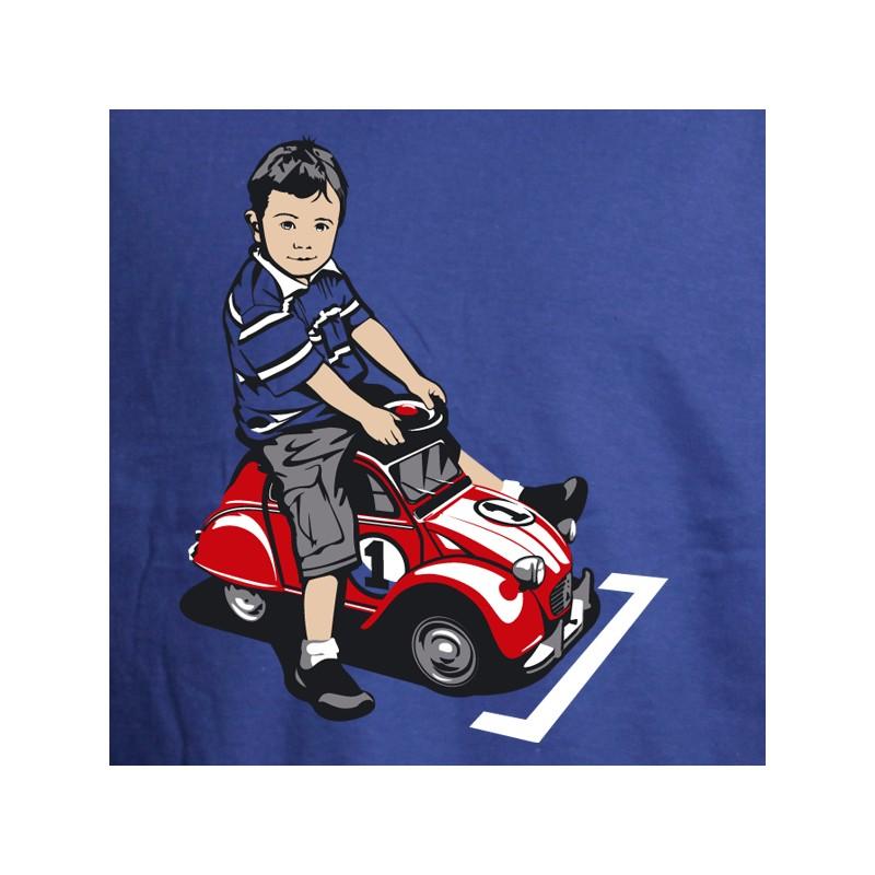 t shirt 2 cv - la dedeuche pour enfants