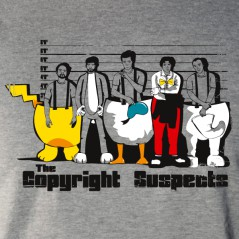 copyright suspects