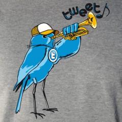 Trompette tweet