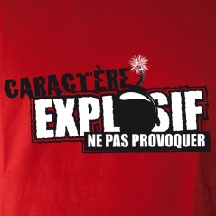 Attention explosif !