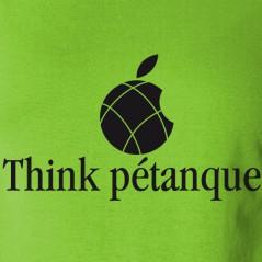 Think pétanque