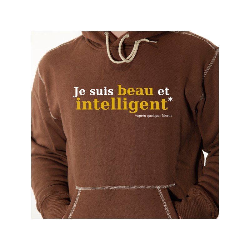 beau et intelligent or