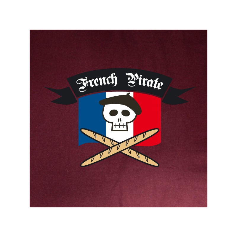 t shirt paris - french pirate