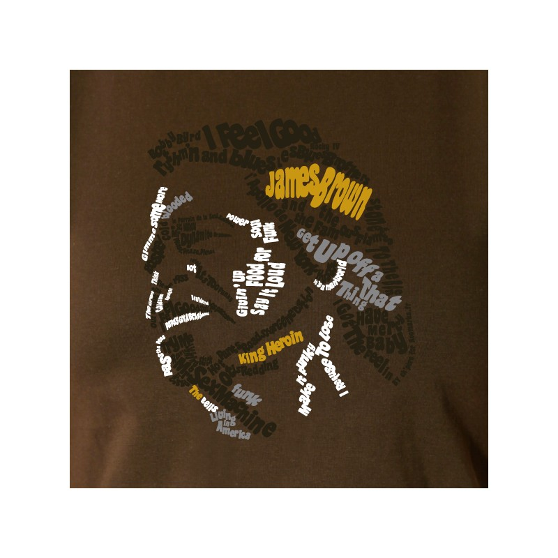 t shirt musique - king of soul