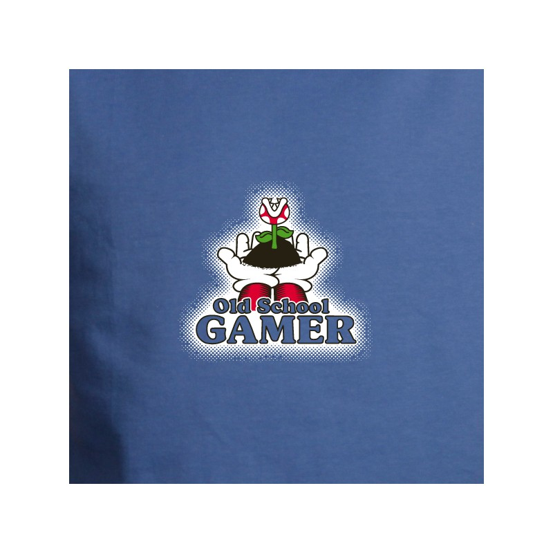 t shirt geek - old school gamer