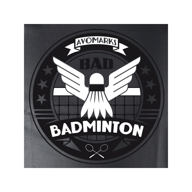 t shirt badminton - badminton bad
