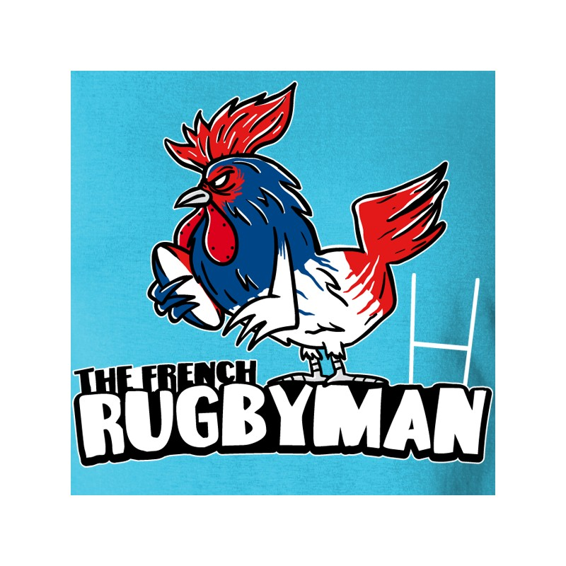 t shirt rugby - coq rugby