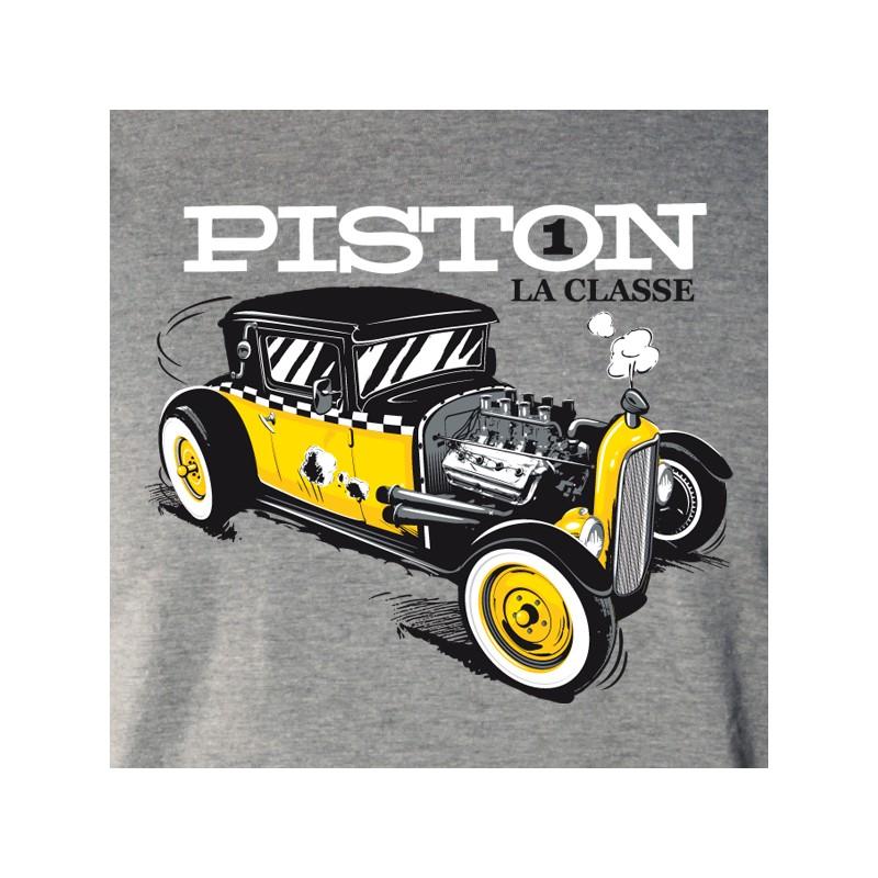t shirt auto - piston