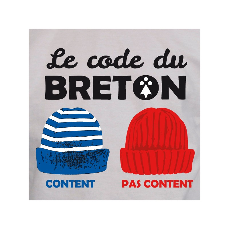 t shirt bretagne - code breton
