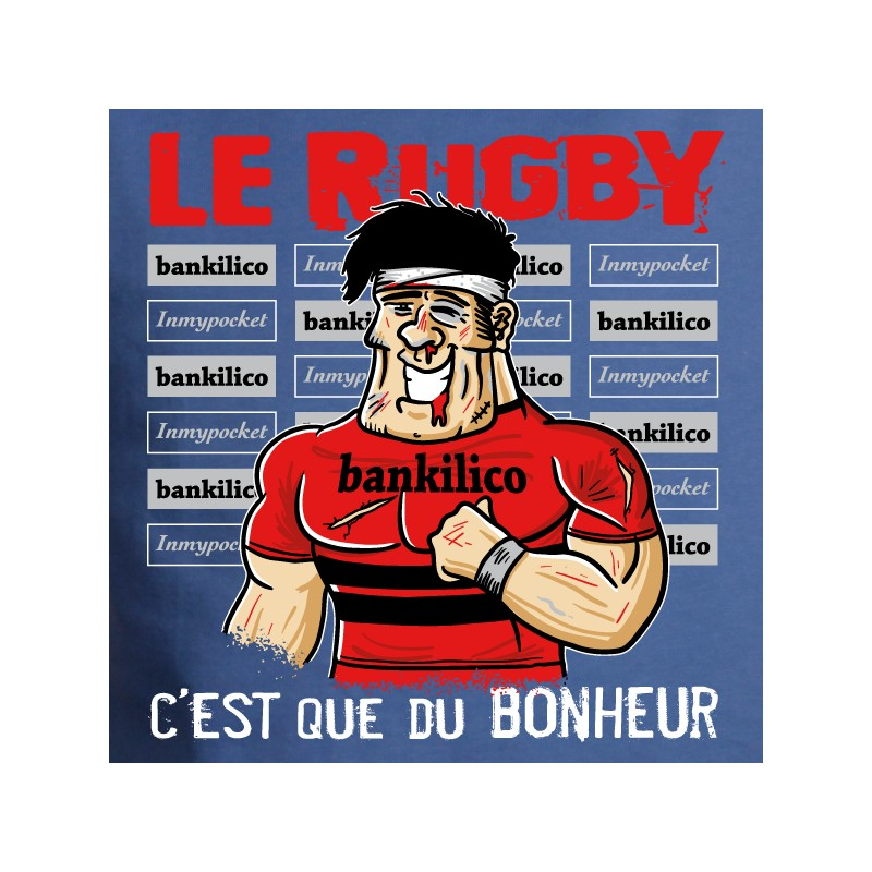 t shirt rugby - rugby et bonheur