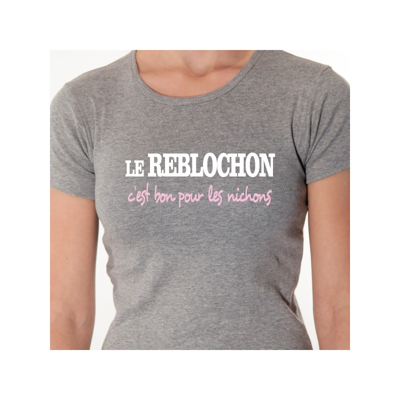 tee shirt personnalis u00e9 le reblochon
