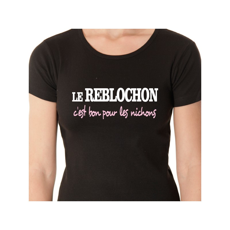 t shirt les alpes - le reblochon