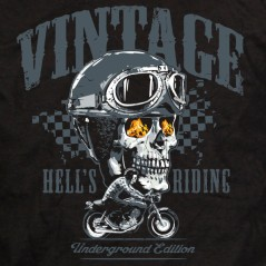 Moto hell's riding