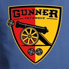 Gunner pétanque écusson