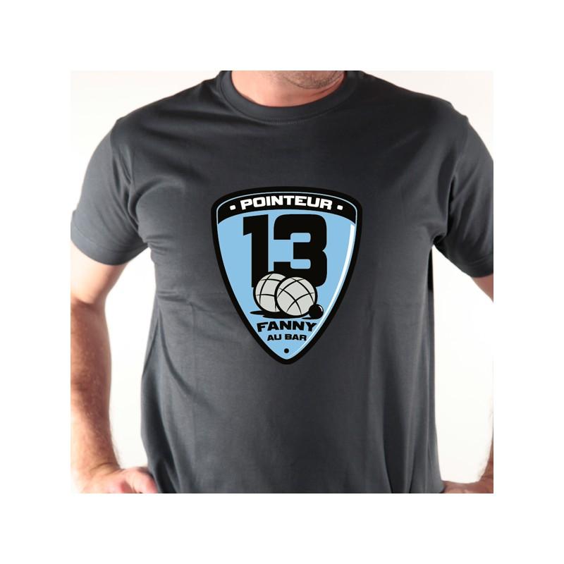 t shirt p u00e9tanque - bouliste pointeur