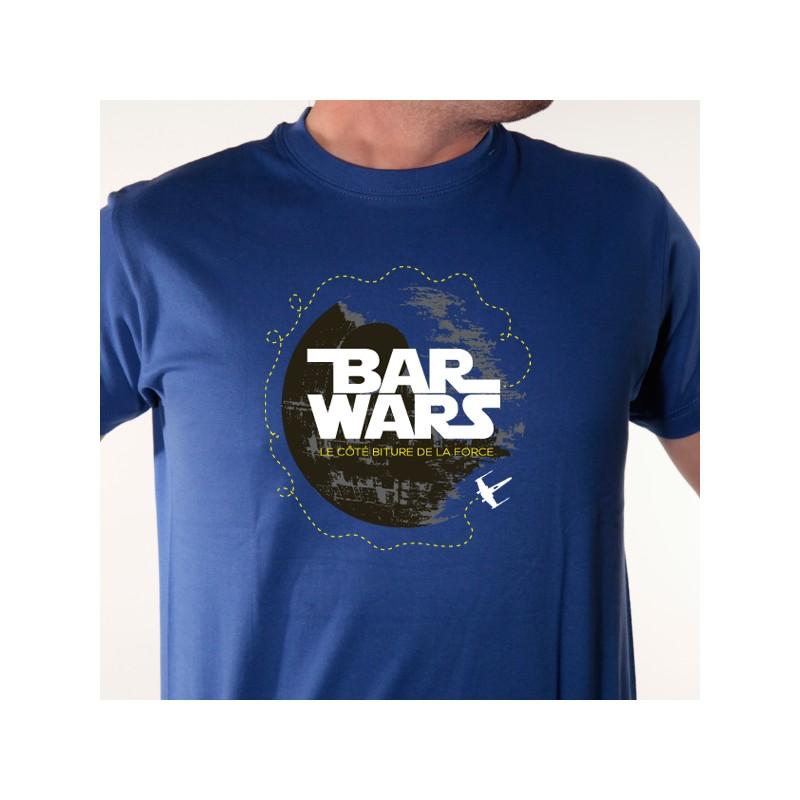 un tee shirt alcool humour parodie de star wars