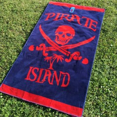serviette plage PIRATE