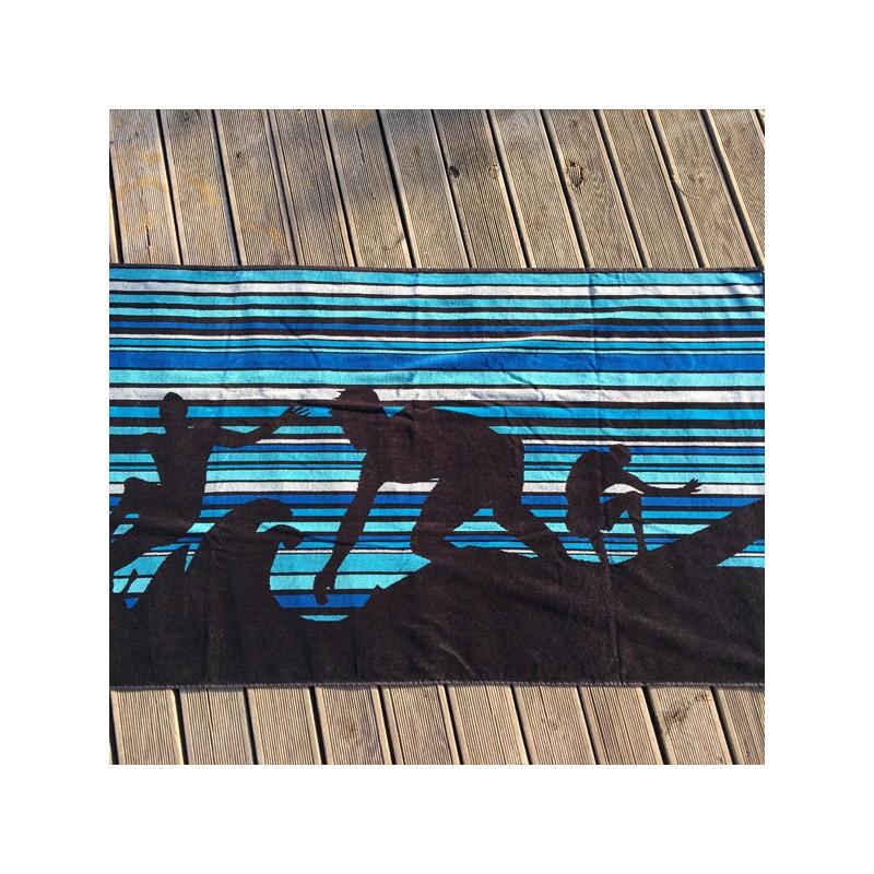 serviette plage plage surf avomarks. Black Bedroom Furniture Sets. Home Design Ideas