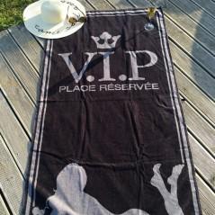 serviette Plage VIP