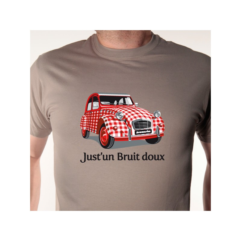 t shirt 2 cv - just u0026 39 un bruit doux