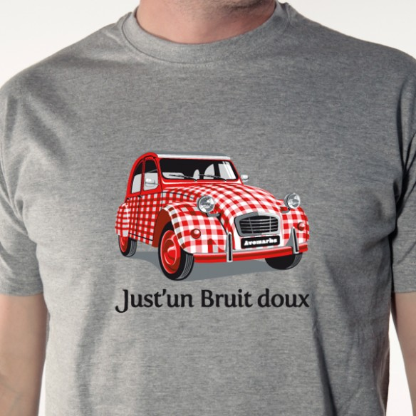 t shirt 2 cv just 39 un bruit doux avomarks. Black Bedroom Furniture Sets. Home Design Ideas