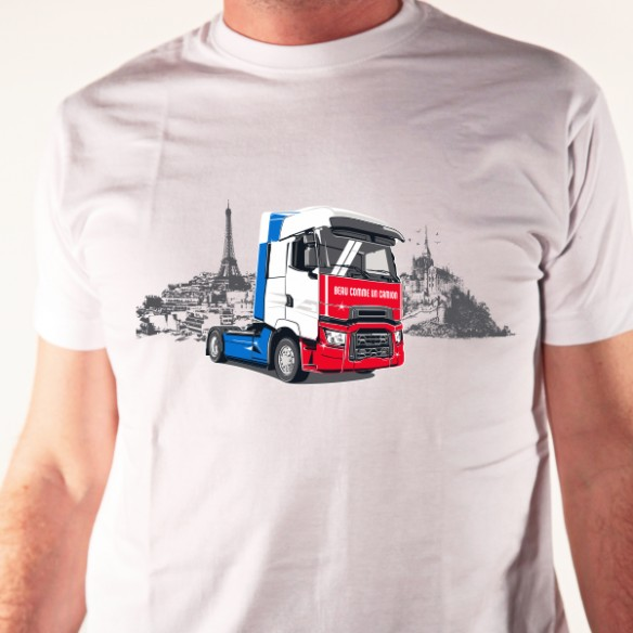 t shirt auto beau comme un camion avomarks. Black Bedroom Furniture Sets. Home Design Ideas