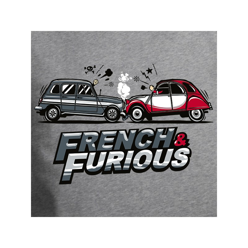 t shirt 4l french and furious avomarks. Black Bedroom Furniture Sets. Home Design Ideas