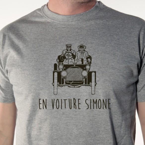 T shirt Auto - En voiture Simone - Avomarks