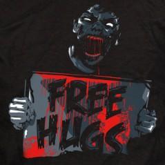 Zombie free hugs