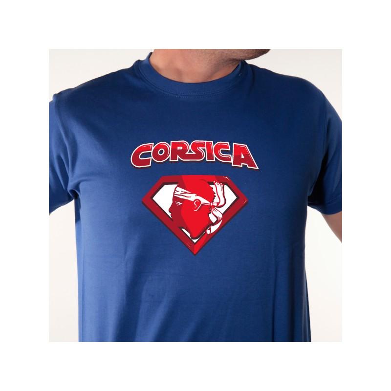 humour Corsica T-shirt Enfant Que la Corse soit avec toi