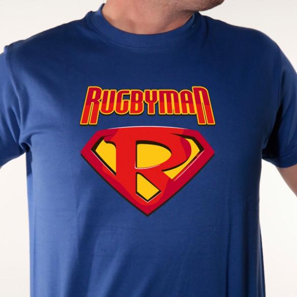 t shirt rugby - super h u00e9ro rugbyman