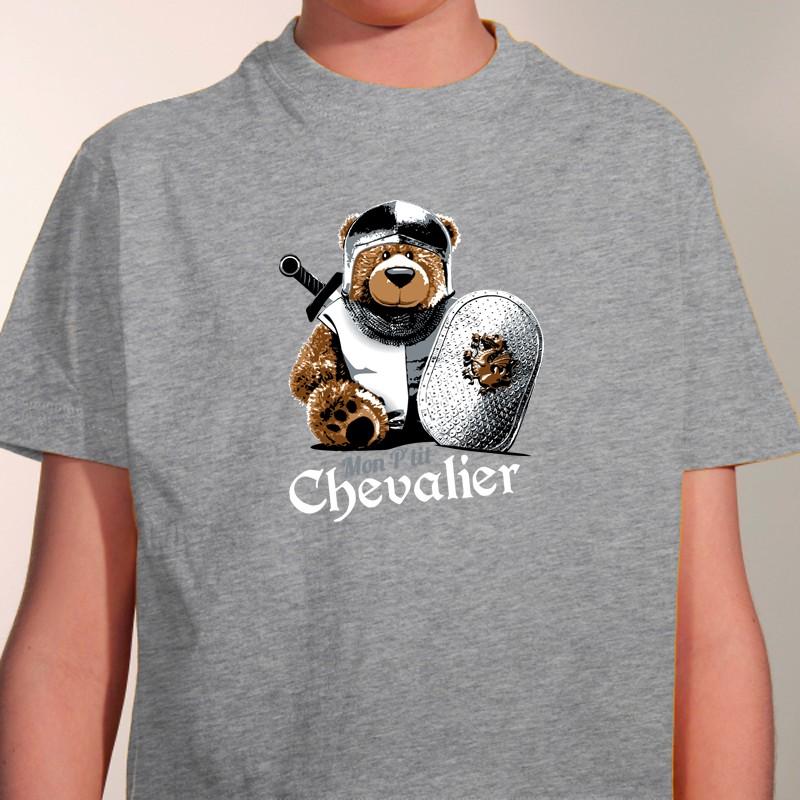 tee-shirt personnalis u00e9 humour - mon petit chevalier