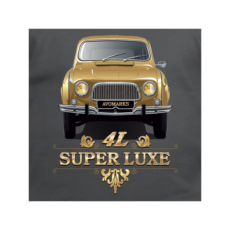t shirt 4l - 4 l super luxe