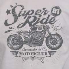 Super ride - tshirt moto