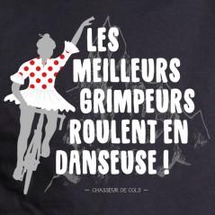 En danseuse - t-shirt vélo