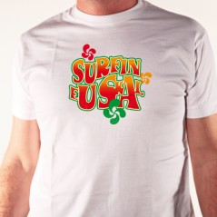 Surf in Euskal - t shirt surf Pays basque