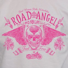 Road angel - t shirt moto